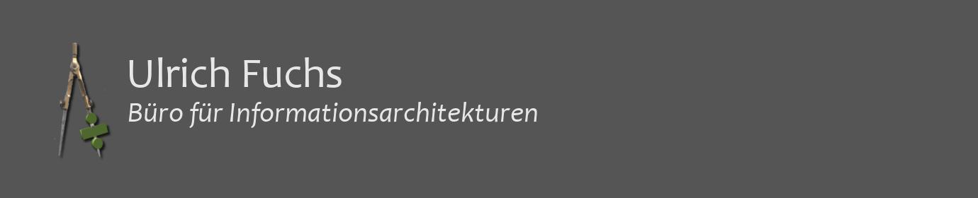 Ulrich Fuchs - Büro für Informationsarchitekturen